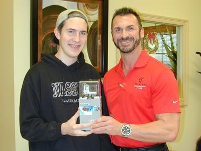 Porter Orthodontics Dr Joseph Porter Refer a Friend Contest Dec 2015 Winner
