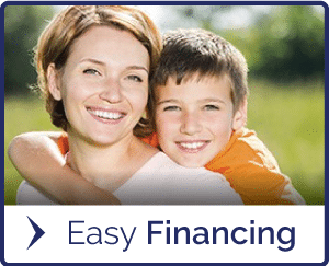 Easy Financing Button at Porter Orthodontics in Baton Rouge LA