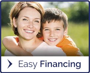 Botón fácil de financiación en Porter Ortodoncia en Baton Rouge LA