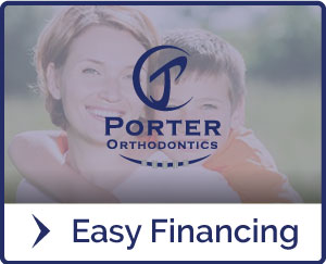 Easy Financing Hover at Porter Orthodontics in Baton Rouge LA