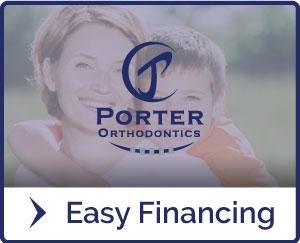Fácil financiación de la libración en Porter Ortodoncia en Baton Rouge LA